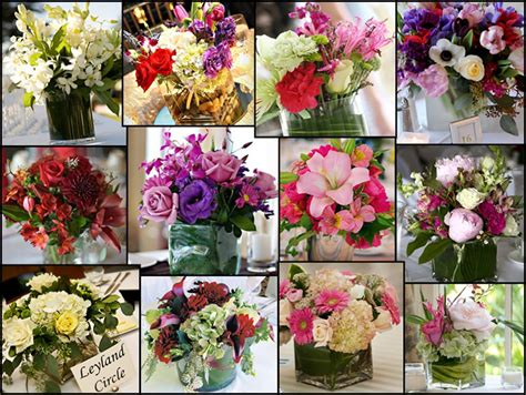 wedding flowers table decorations zee post