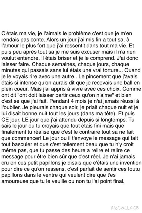 texte citation amour vie gars boy citation francais mots detruite