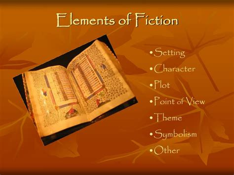 Ppt  Elements Of Fiction Powerpoint Presentation Id6830648