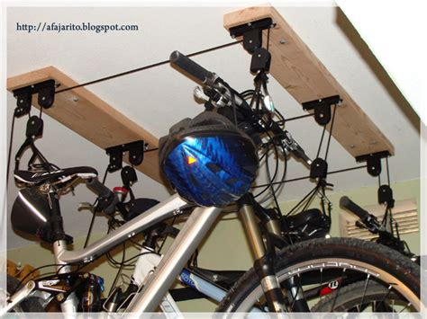 diy installing a ceiling mount bike lift