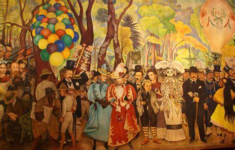 museo mural diego rivera en la alameda caminando por la ciudad