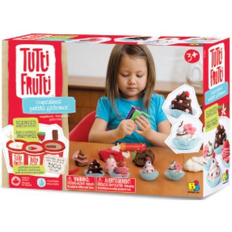 petits gateaux muffins cupcakes tutti frutti rehydratable pate a modeler plasticine ne s emiette
