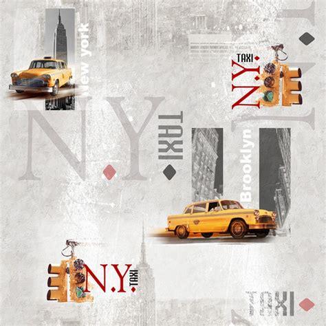 toile cir 233 e en m 232 tre deco new york taxi new yorkais jaune