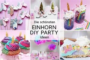 Deko Ideen Kindergeburtstag : 7 originelle einhorn party diy ideen zum selbermachen ~ Whattoseeinmadrid.com Haus und Dekorationen