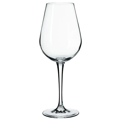 Hederlig White Wine Glass Clear Glass 35 Cl Ikea