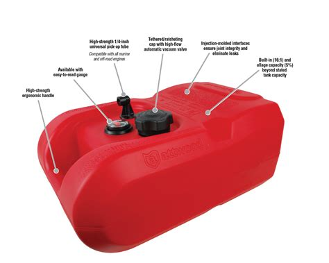 Boat Fuel Tank Pump epa carb certified portable boat fuel tanks by attwood