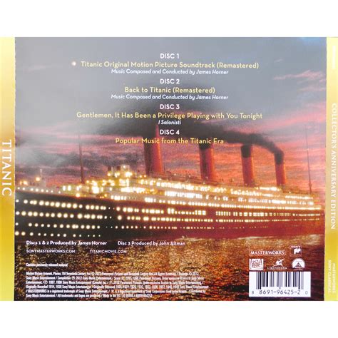 titanic original motion picture soundtrack remastered