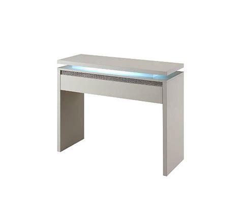 console 1 tiroir riva blanc strass tables basses but