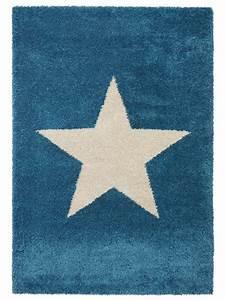 Teppich Stern Blau : benuta hochflor shaggy teppich graphic star in blau gelb rot gr n grau und lila ebay ~ Markanthonyermac.com Haus und Dekorationen