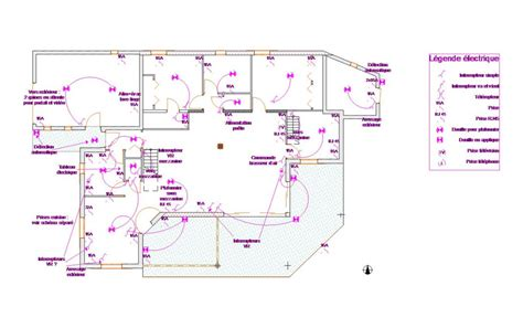 plan plomberie maison individuelle maison moderne