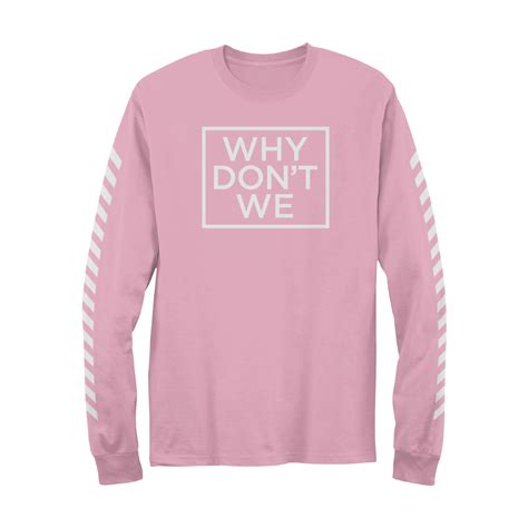 Why Don't We Long Sleeve (pink)  Warner Music Australia Store