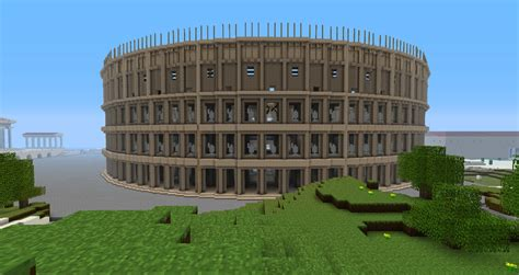 Ancient Rome ( Roman Building ) Minecraft Project