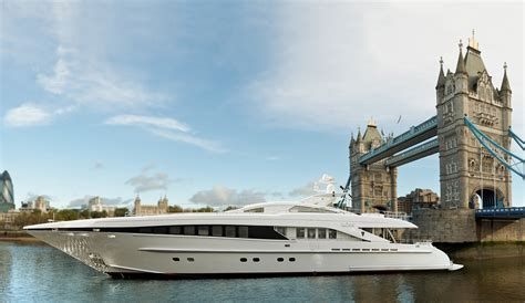 Yacht London by Newly Refitted 37m Heesen Yacht Ilona In London Yacht
