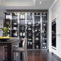 glass kitchen cabinets 15 Charming Kitchen Designs with Glass Cabinets - Rilane