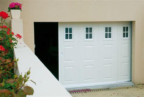 portes de garage coulissantes lat 233 rales fame le fenestron