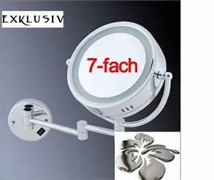 Kosmetikspiegel Mit Beleuchtung 7 Fach : led kosmetikspiegel online bestellen bei yatego ~ Markanthonyermac.com Haus und Dekorationen