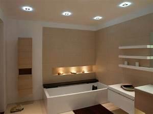Deckenleuchten Spots Ideen : tendenzen bei der badbeleuchtung badezimmer beleuchtung zenideen ~ Markanthonyermac.com Haus und Dekorationen