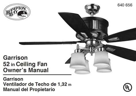 hton bay ac 418 ceiling fan fan stopped turning the
