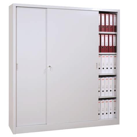 armoire m 233 tallique 224 portes coulissantes armoires de bureau axess industries