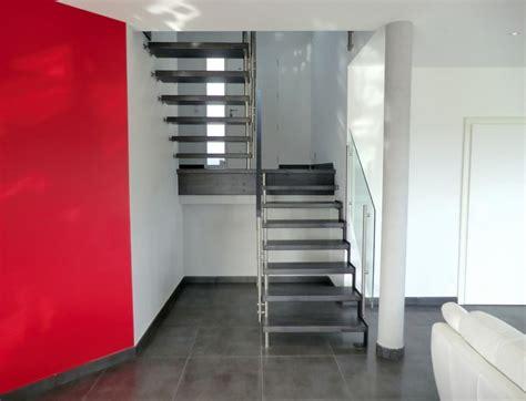 escalier demi tournant deco accueil design et mobilier