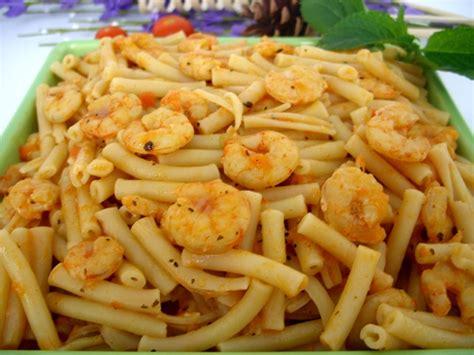recette ptes aux crevettes recette plat cuisine femme zoom recettes de cuisine