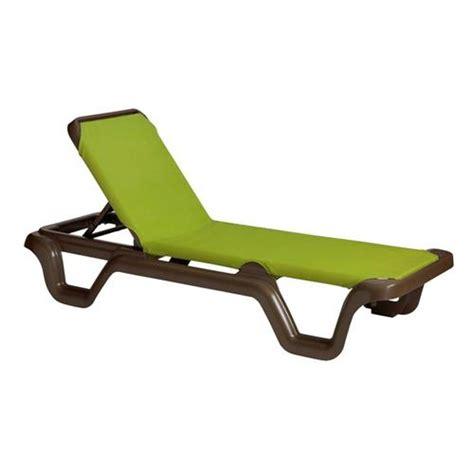 grosfillex us415237 marina fern sling chaise lounge etundra