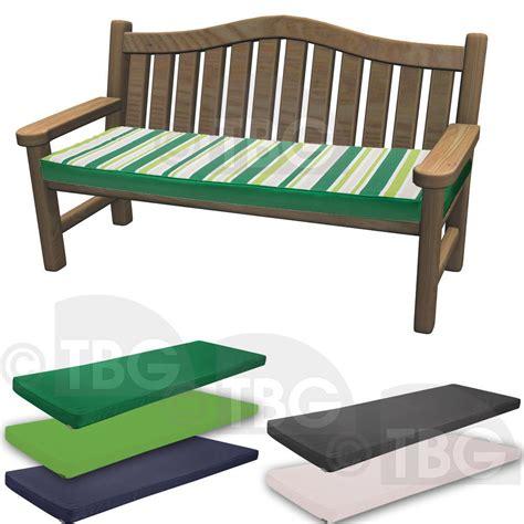 Outdoor Waterproof Fabric 3 Seater Bench Pad Garden