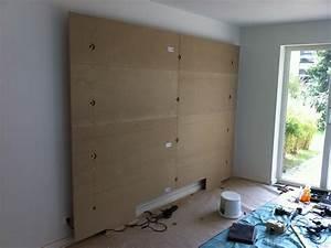 Tv An Wand Anbringen : tv wand stein selber bauen ~ Markanthonyermac.com Haus und Dekorationen