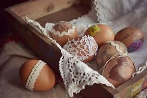 Gekochte Eier Dekorieren : vintage ostereier gestalten mit der serviettentechnik ideen ~ Markanthonyermac.com Haus und Dekorationen