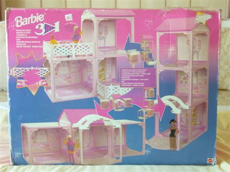 Barbie Dream Boat 90s by 1994 Barbie Doll 3 In 1 Modular Town House Nrfb Barbie