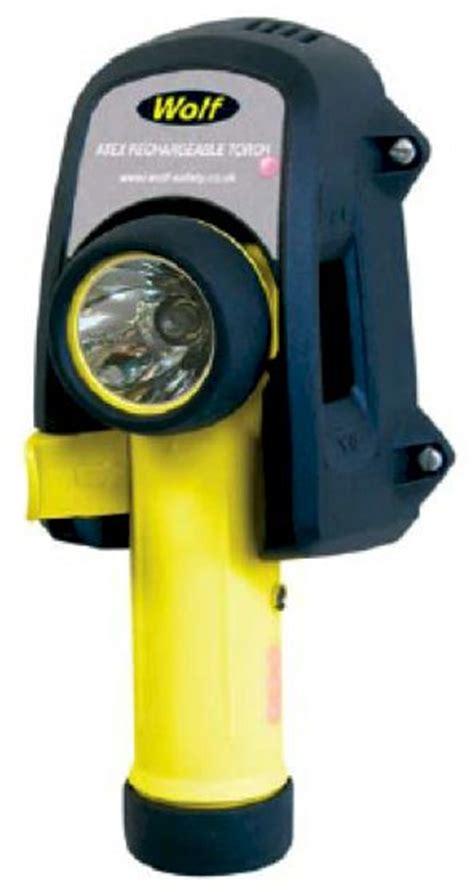 torche atex rechargeable sur chargeur 220v