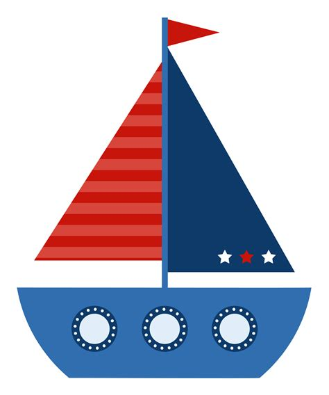 Red Boat Clipart by Sailboat Clipart Red And Blue Pencil And In Color