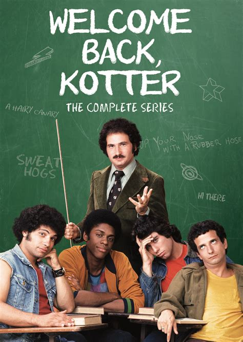Kotter Welcome Back Kotter Cast by Welcome Back Kotter The Complete Series Shout Factory