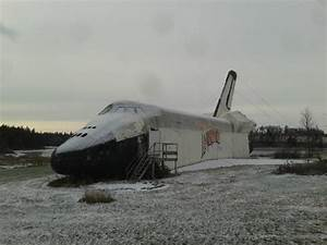 The Abandoned Space Shuttle Replica of Prince Edward ...