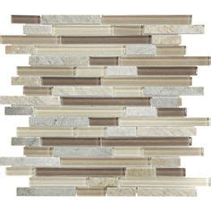 american olean delfino smokey topaz mixed material and glass mosaic indoor outdoor