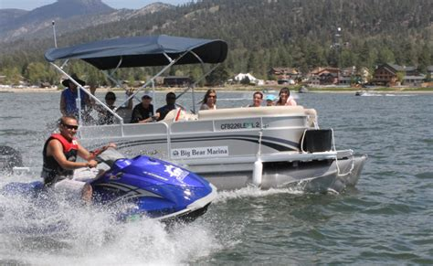 Big Bear Marina Boat Slip Rentals by Water Bikes Pontoon Boats Waverunners At Big Bear Marina