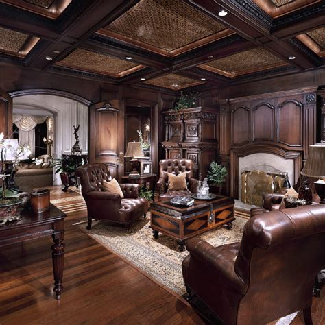 Chateau Samara  Traditional  Home Office  Orange County