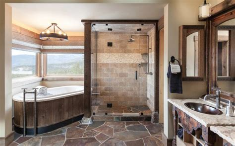 Refined Rustic Bathroom Designs For Your Rustic Home