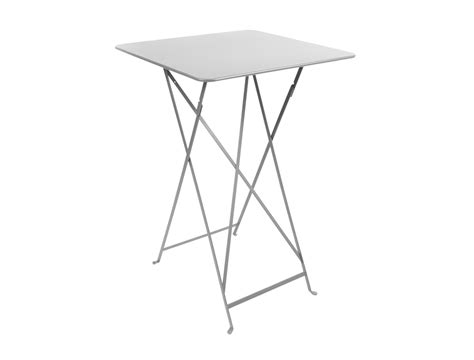 fermob bistro colourful iron folding high table for outdoors