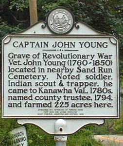 Captain John Young - West Virginia Historical Markers on ...
