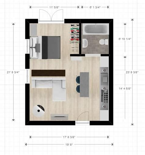 25 best ideas about small house layout on 25 best ideas about studio apartment layout on