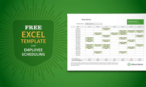 employee roster template retail free excel template for employee scheduling when i work