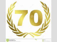 70 Anniversary Royalty Free Stock Photo Image 8592925