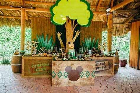 Kara's Party Ideas Mickey Mouse Jungle Safari Birthday