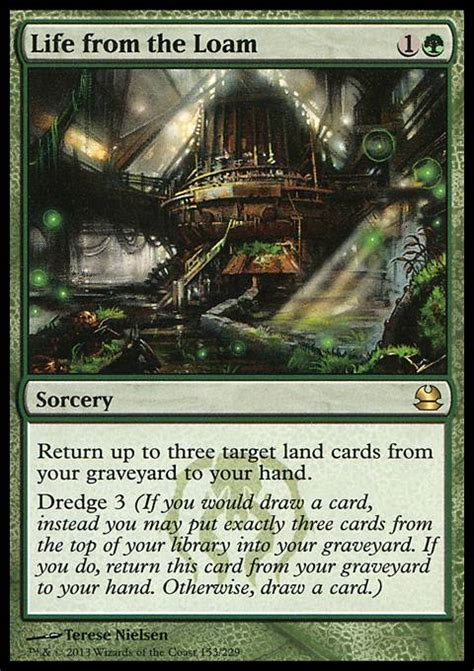 from the loam mtg card
