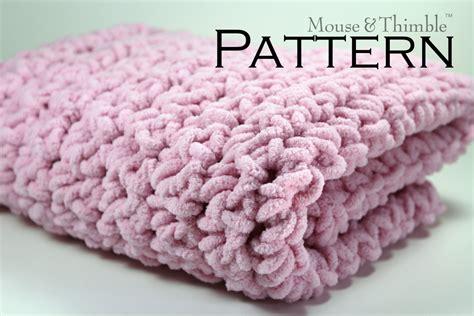 Chunky Wool Blanket Crochet Pattern (5)