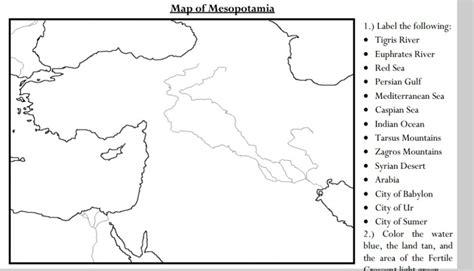 Great Map  5th Grade History Mesopotamia  Pinterest Maps