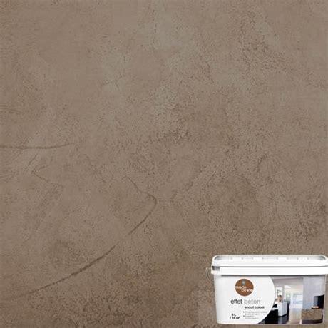 enduit d 233 coratif effet b 233 ton 5l brun soft sous couche pr 233 paration des murs peinture