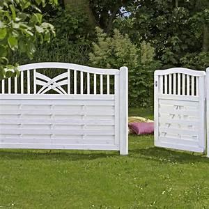 Tagesbett Holz Weiß : holz sichtschutz zaun ronda wei ~ Markanthonyermac.com Haus und Dekorationen