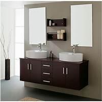 vanities for bathrooms Modern Bathroom Double Sink - Home Decorating Ideas
